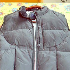 Men's puff vest jacket - worn once!